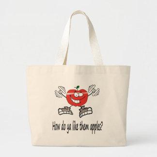 Grand Tote Bag apple5 fonctionnant
