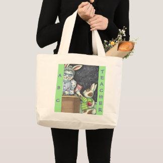 Grand Tote Bag Apple pour le professeur FOURRE-TOUT ENORME