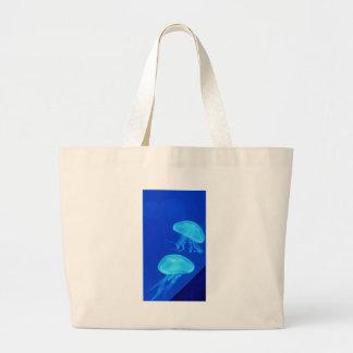 Grand Tote Bag Aquarium de la Caroline du Nord de méduses