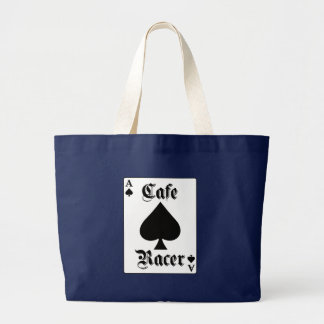 Grand Tote Bag As de pique de coureur de café