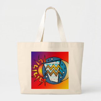 Grand Tote Bag astrologie, Verseau
