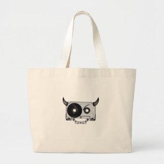 Grand Tote Bag Attachez du ruban adhésif au monstre