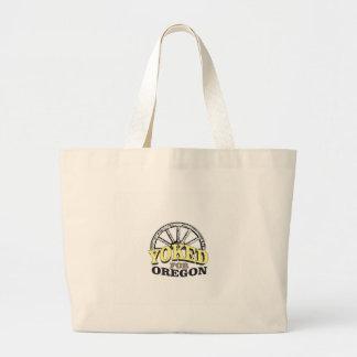 Grand Tote Bag attelé pour l'Orégon