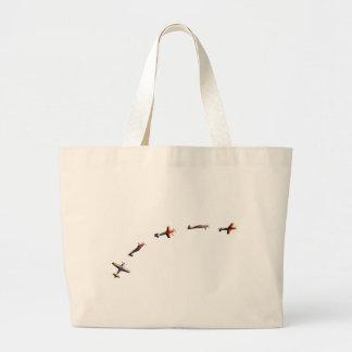 Grand Tote Bag avions de vol
