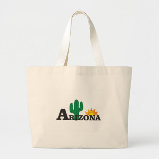 Grand Tote Bag Az de cactus