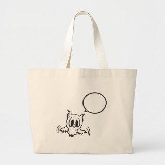 Grand Tote Bag baby_owl.ai