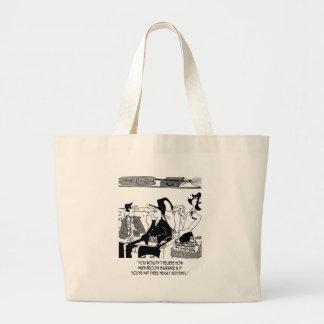 Grand Tote Bag Bande dessinée 5221 d'assurance