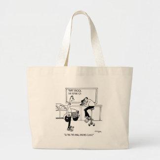 Grand Tote Bag Bande dessinée 5940 de mécanicien