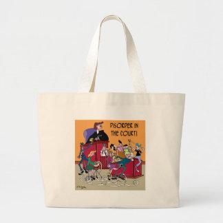 Grand Tote Bag Bande dessinée 6553 de loi