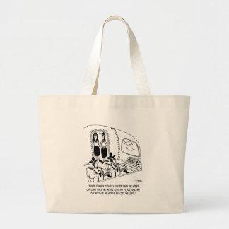 Grand Tote Bag Bande dessinée 7547 de vol