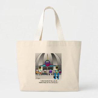 Grand Tote Bag Bande dessinée 8500 de stationnement