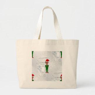 Grand Tote Bag Barack Obama père Noël