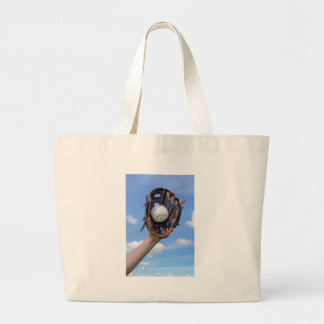 Grand Tote Bag Base-ball de participation de bras avec le gant