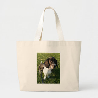 Grand Tote Bag Basset Hound adorable Snoopy