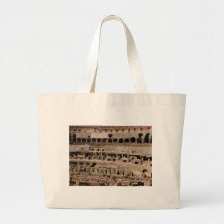 Grand Tote Bag bâtiment antique de croustillant