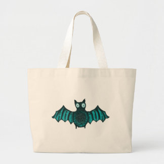 Grand Tote Bag Batte de Halloween