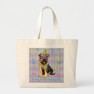 Grand Tote Bag Berger allemand de mardi gras