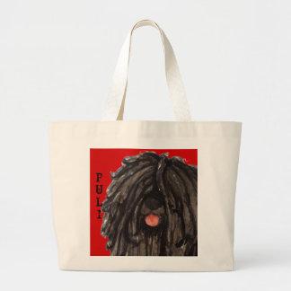 Grand Tote Bag Bloc de couleur de Puli