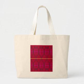 Grand Tote Bag Blocs géométriques d'ethno de conception