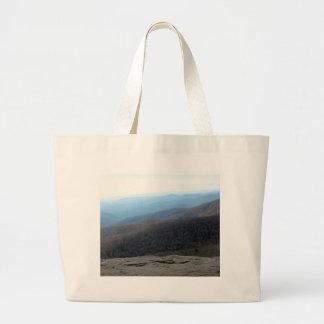 Grand Tote Bag Blue Ridge Mountains en Caroline du Nord