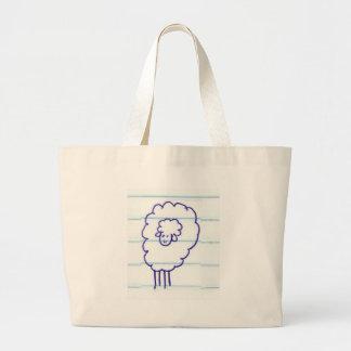 Grand Tote Bag Bob les moutons seuls
