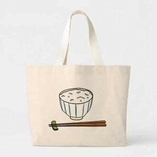Grand Tote Bag Bol de riz japonais