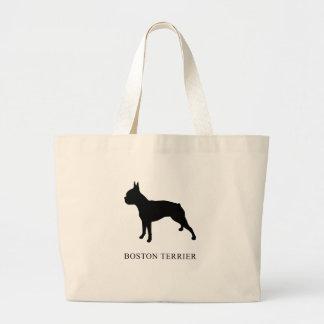 Grand Tote Bag Boston Terrier
