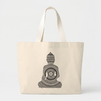 Grand Tote Bag Bouddha GraphiZen