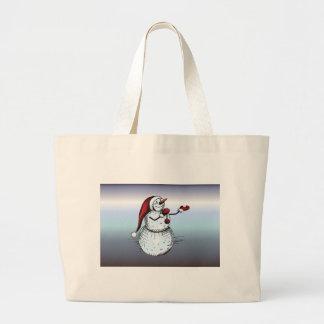 Grand Tote Bag Bougie sainte de trinité de nuit de nuit