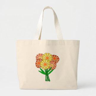 Grand Tote Bag Bouquet de Gerbera