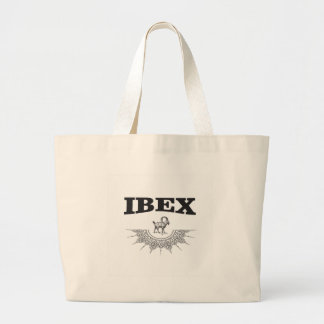 Grand Tote Bag bouquetin l'illustration