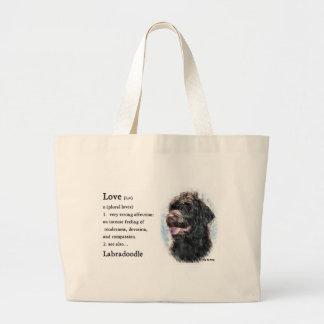 Grand Tote Bag Cadeaux de Labradoodle