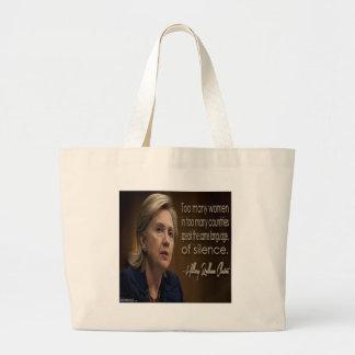 Grand Tote Bag Cadeaux et tee - shirt anonymes des femmes R de