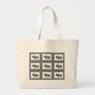 Grand Tote Bag Cadres de Markhor