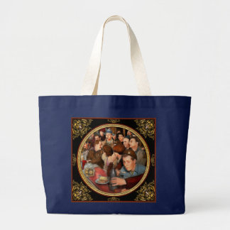 Grand Tote Bag Café - Munchies de minuit 1943