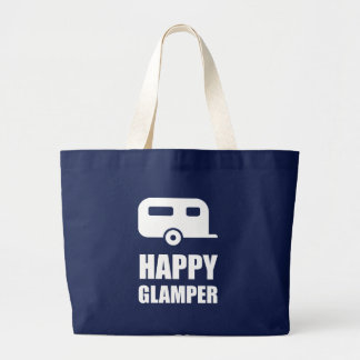 Grand Tote Bag Campeur heureux de Glamper