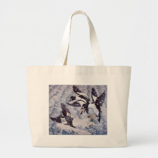 Grand Tote Bag Canards de Goldeneyes de Charles Tunnicliffe