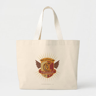 Grand Tote Bag Capitaine Emble de Harry Potter | Gryffindor