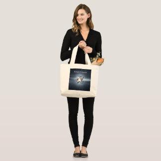 Grand Tote Bag Capricorne de chrome