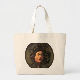 Grand Tote Bag Caravaggio - méduse - illustration italienne