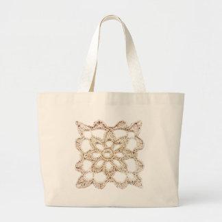 Grand Tote Bag Carré de grand-maman