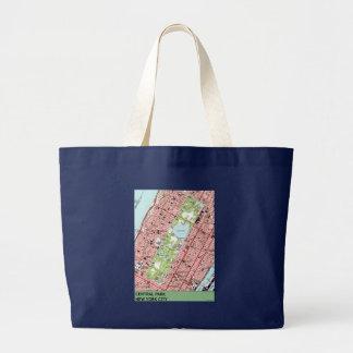Grand Tote Bag Carte de cru de New York City de Central Park