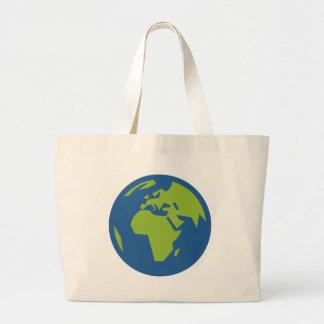 Grand Tote Bag Carte du monde