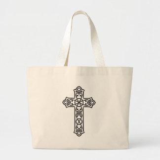 Grand Tote Bag Celtic croisé du Christ