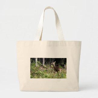 Grand Tote Bag Cerf de Virginie d'île de St Joseph