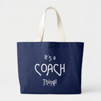 Grand Tote Bag C'est une chose d'entraîneur !