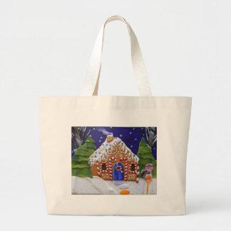 Grand Tote Bag Chambre de pain d'épice