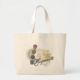 Grand Tote Bag Chambres de Harry Potter | Hogwarts - polychromes
