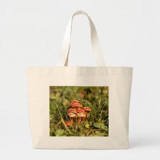 Grand Tote Bag Champignons de capot d'écarlate, coccinea de