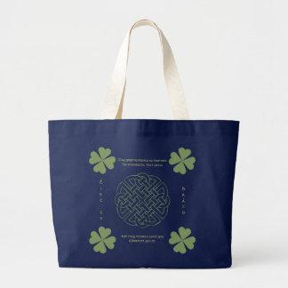 Grand Tote Bag Chanceux avec du charme